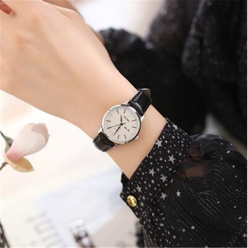 watches 2020 Hot Women Fashion Leather Band Analog Quartz watch Women dress Wristwatch Gifts For Women