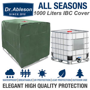 Outdoor-Cover Ibc Container Sun-Protection Water-Tank Rain Garden 1000-Liters