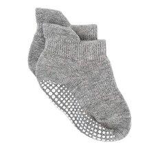 Нескользящие носки из хлопка и спандекса для малышей; спортивная одежда для маленьких детей; носки в горошек