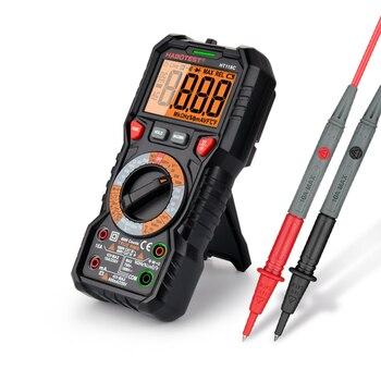 HABOTEST-multímetro Digital automotriz, HZ Ohm, capacitancia NCV en vivo, voltímetro AC DC,...