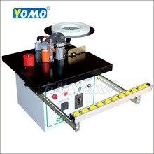 YOMO Dobladora de bordes manual MY05/MY06, aplicadora de bandas portátil con forma de arco recto/curvo, para carpintería, corte de pvc