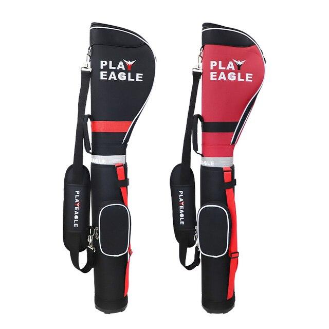 PLAYEAGLE léger Solf pliable pour hommes et femmes Golf demi-Clubs Golf dimanche sac Aviation sac de Golf