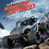 LeadingStar 40+MPH 1/12 Scale RC Car 2.4G 4WD High Speed Fast Remote Controlled Large TRACK