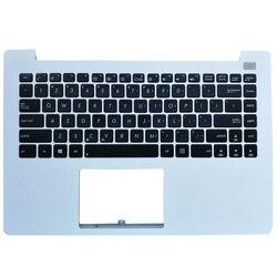 Для ASUS X402 X402C X402CA F402 F420C Белый Черный Подставка для рук верхний чехол с клавиатурой
