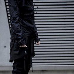 PUPILTRAVEL FOG-S00 фартук-трансформер многофункциональная горка Сумка molle фартук теходежда стиль панк Мода