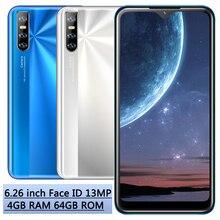 Смартфон Note 8 Pro, 4 + 64 ГБ, 4 ядра, 6,26 дюйма, 13 МП, HD