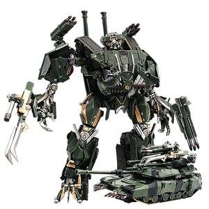 Image 1 - שינוי קטטה BMB שחור ממבה LS 10 LS10 סגסוגת מתכת סרט סרט voyager מהדורה פעולה איור רובוט מעוות צעצועי מתנות