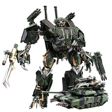 Transformation Brawl BMBสีดำMamba LS 10 LS10 โลหะผสมโลหะภาพยนตร์Voyager Edition Action Figureหุ่นยนต์รูปของเล่นของขวัญ