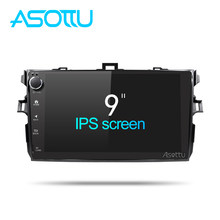 Asottu CLKLL9060 android 8.1 car dvd gps navigation for Toyota corolla 2007 2008 2009 2010 2011 car dvd radio gps stereo(China)