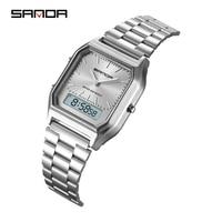 Mode Sanda Military Sport Uhren Wasserdicht Herren Top Marke Luxus Uhr Elektronische Led Digital Uhr Männer Relogio Masculino