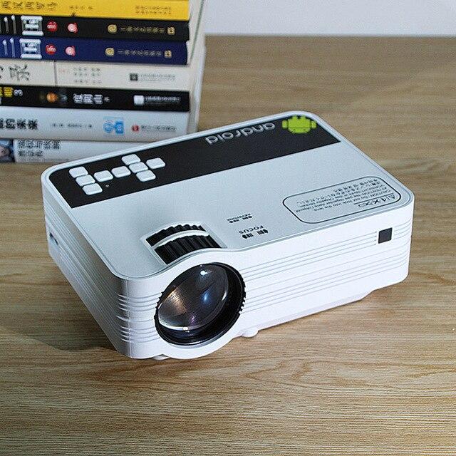 Ub10/ub10wifi (android 6.0) 2000lumens mini led tv cinema em casa projetor multimídia lcd proyector 3d beamer suporte hd 1080 p