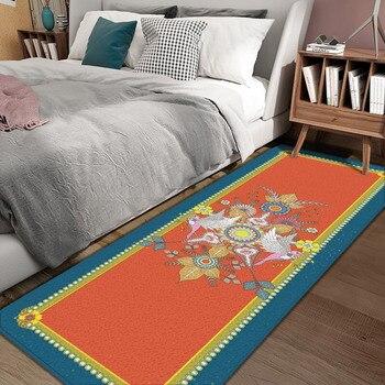 Estilo Mandala joyería de aves patrón étnico rectángulo alfombra de Alfombras de...