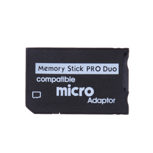 ALLOYSEED Support Memory Card Adapter Micro SD To Memory Stick Adapter For PSP Micro SD 1MB-128GB Memory Stick Pro Duo