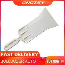 Lange Handvat Bulldozer Zuigmond Voor Voorruit Folie Folie Gereedschappen Auto Venster Sneeuw Ijs Scrubber Tint Gereedschap B12