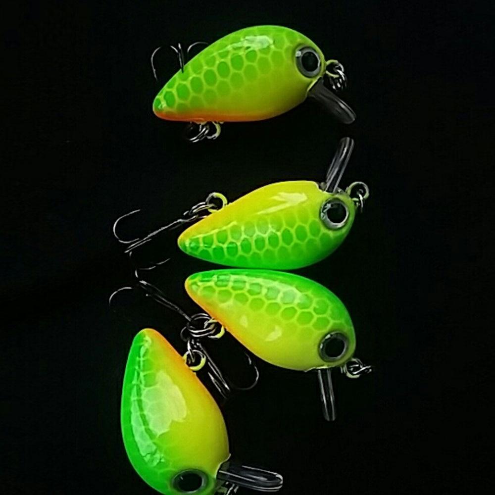 SEALURER 3cm 1.8g Mini Crankbait Fishing Lure 1pcs Artificial Crank Hard Bait Topwater Minnow Fishing Wobblers Japan Fish Lures