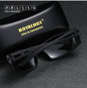 Image 2 - Royalhot men feminino polarizado acolhedor esportes óculos de sol vintage retro óculos de sol máscaras oculos masculino 900180