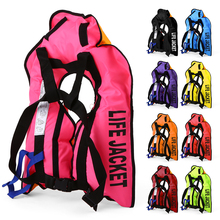 Manual Inflatable Life Jacket Vest Professional Swiming Fishing Life Vest for Children Water Sports Adult Life Vest for Fishing