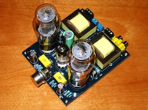 Image 2 - Hi Fi ステレオ 6N1/6N2 + 6P3P シングルエンドクラスオーディオチューブアンプボードバルブアンプボード DIY キット