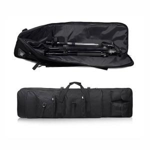 Image 3 - Outdoor Militaire Jacht Schieten Tas Nylon 81 Cm Tactische Zak Vierkante Carry Gun Bag Hand Gun Accessoire Bescherming Case Rugzak