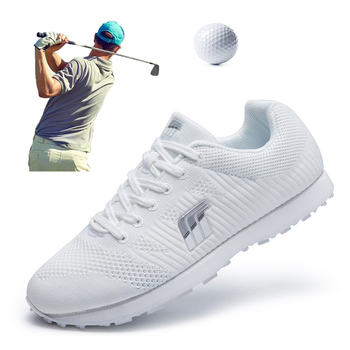 Spring Summer Golf Shoes for Men Women Kids Outdoor Golf Training Sneakers Spikeless Breathable Athletic Gym Shoes for Golfing women golf skirt lady summer outdoor golf skorts female spring golf apparel breathable lattice golf sports shorts skirts navy
