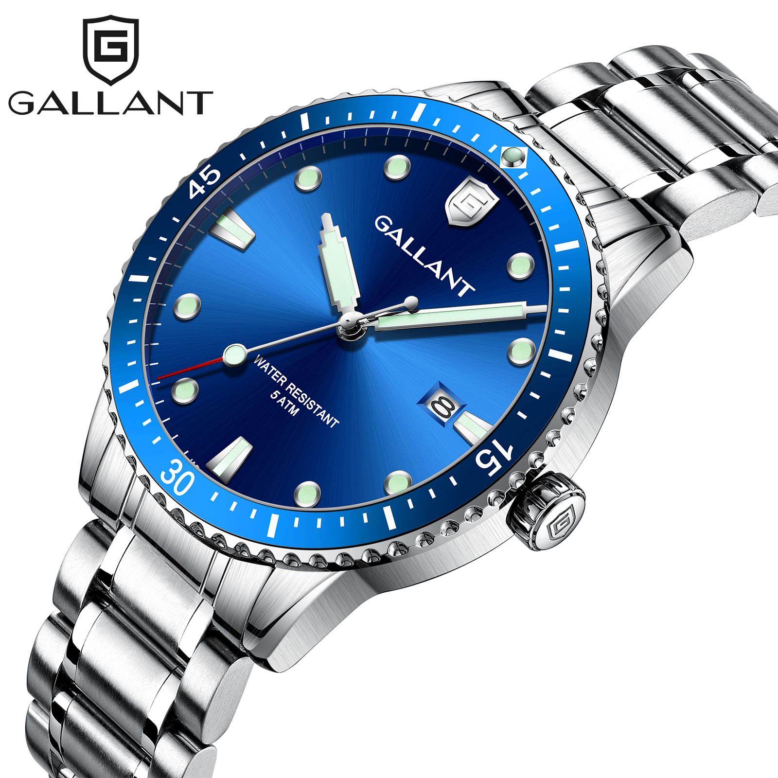 Blue Quartz Watch Watch Men Waterproof Watch Watches For Men