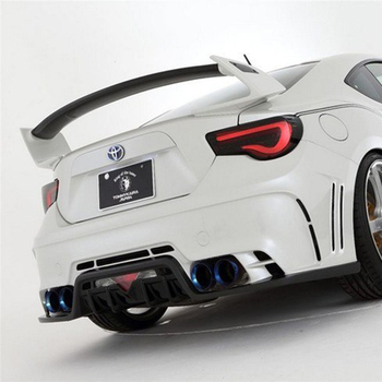 High quality Carbon Fiber or ABS GT 86 BRZ Rear Trunk wing spoiler For Subaru Toyota 86 GT86 spoiler 2013-2017 By DIY color