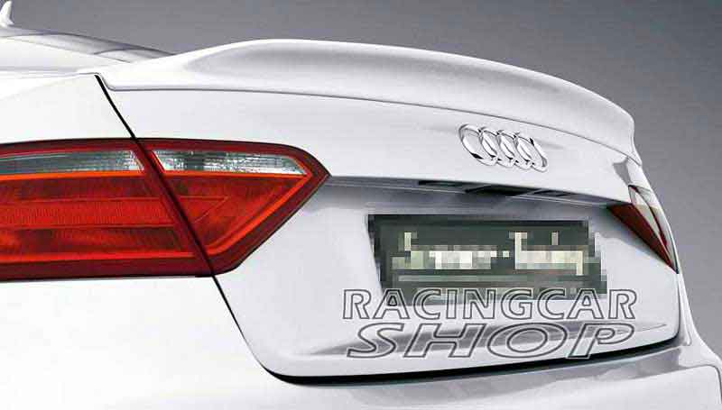 UNPAINTED CA STYLE TRUNK BOOT SPOILER Fit For AUDI A5 2Door COUPE 2008UP A026F