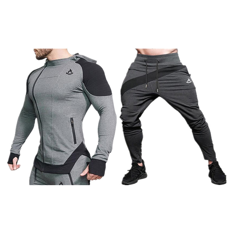 2019 Sweatshirts, Pants, Men's Suits, Gyms, Jogging, Suits, Fitness, Training, Jogging, Weight Loss, Sweating, Sauna, Sportswear