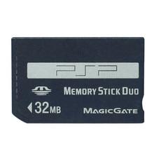 Promocja! 32MB 64MB 128MB 256MB 512MB 1GB pendrive Pro Duo karta pamięci na PSP/aparat MS karta Memory Stick pendrive Pro Duo Adapter