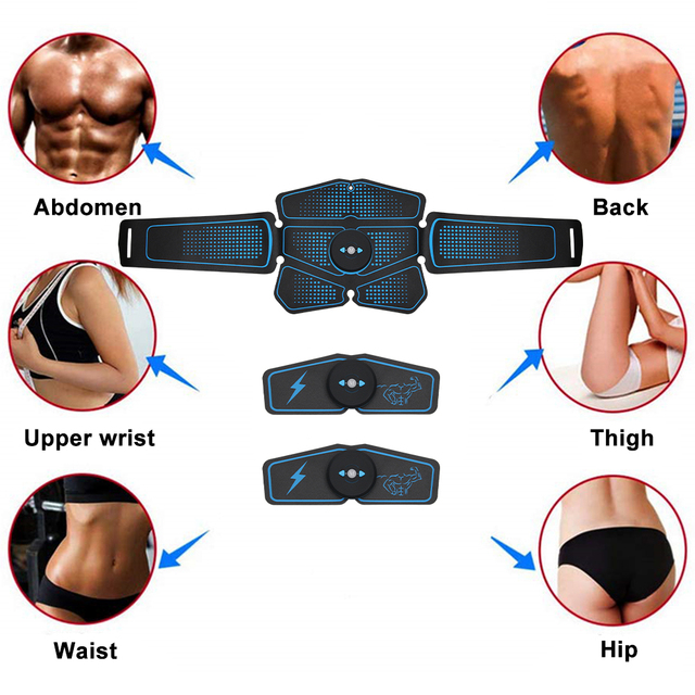 Heyfitae Abs Abdominal Muscle Stimulator 3