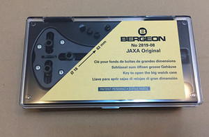Image 2 - BERGEON 2819 08 Watch repair tools triangle open back cover tools can open the maximum of 18 62mm back cover