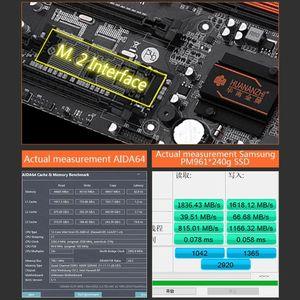 Image 5 - Huananzhi X79 8D Motherboard Intel Dual CPU LGA 2011 E5 2689 2670 V2 DDR3 1333/1600/1866MHz 256GB M.2 NVME SATA3 USB3.0 E ATX