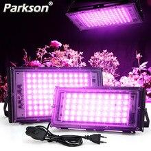 Full Spectrum LED Grow Light PhytoLamp For Plants Tent Flower Seeding 50W AC 220V Range Lamp Outdoor Floodlight Grow Phyto Box