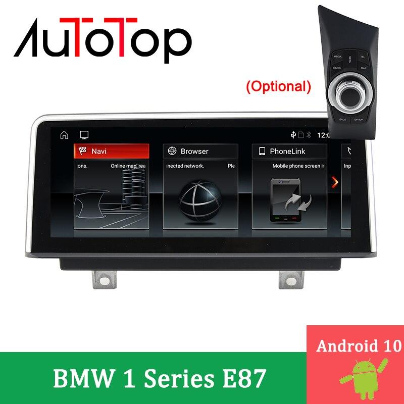 AUTOTOP Автомобильный мультимедийный GPS-навигатор Android 10 для 1 серии 120i E87 E81 E82 E88 CCC CIC 2005-2012 автомобильный стереоплеер Idrive