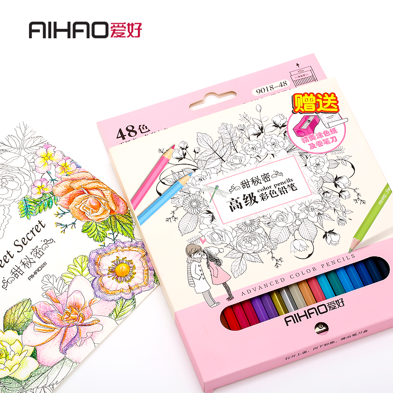 Aihao 48/72 Oil Coloured Pencils Draw Schrijfpotloden School & Office Student Stationery Supplies