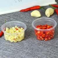 Manufacturers Direct Selling Disposable Transparent PP Plastic Cup Environmentally Friendly Plastic Salad Cup 4 Ann Transparent|Egg Boilers|   -