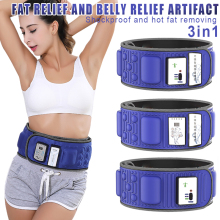 Good Healthy Waist Trimmer Belt High Frequency Vibration Slimming Waist Trimmer for Promote Weight Loss