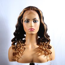 human hair full lace wig with baby hair, deep wave wig brazilian human hair lace front wig with  nature hairline