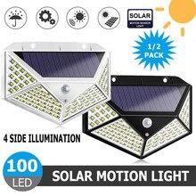100 LED Solar Light…