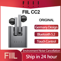 Auricolari Bluetooth 5.2 Wireless FIIL CC 2 CC2 originali cuffie da gioco TWS auricolari con cancellazione del rumore auricolari ENC auricolari di tipo c