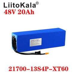 LiitoKala Original 48V 20AH Ebike Battery 48V 1000W for electric bike battery for bike Powerful electric bicycle battery XT60