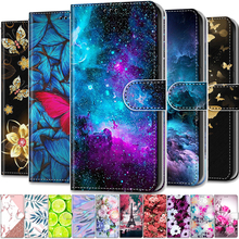 Funda magnética de cuero para teléfono móvil Samsung, carcasa de cuero con tapa para Galaxy S 10, S10, S9 Plus, S10e, S8, S7, S6, S5, S10Plus