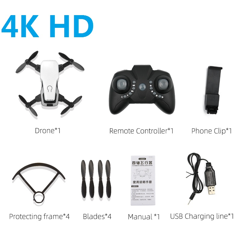 Mini Drone 4K Camera Quadrocopter Dron Folding High Hold FPV Small Drones Toys for Boys Gift for Kids VS SG700 S9W M71 E61 E68