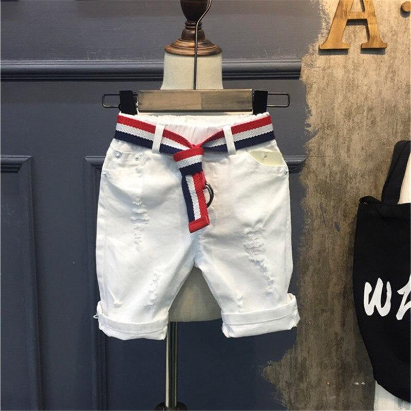 Children Boys Denim Shorts