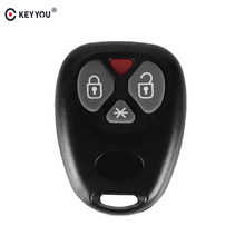 Keyyou 10x novo escudo chave de substituição para o brasil positron alarme de carro 3 botão remoto caso chave atacado e varejo