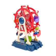 Playground Toy Building Sets with Amusement Set for Kids Birthday Gifts Funnel Slide Blocks DIY Windmill Toys For Children gift