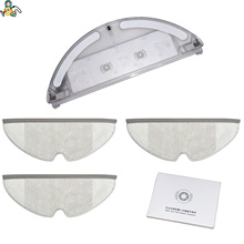 Moping pad holder serbatoio di acqua mop filtro di tessuto per Xiaomi Roborock S5 S55 S50 1S E20 E25 E35 Xiaomi aspirapolvere pezzi di ricambio