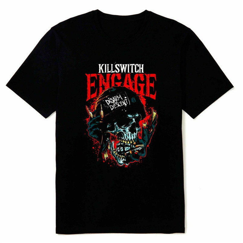 New Kilsswitch Engage Metalcore Band Mens Black Size S-3XL T Shirt D33 Tee Shirt Leisure Comfortable Vogue Aesthetic image