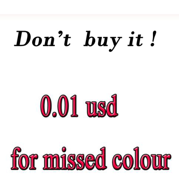 please don't order ,0.01 usd for missed colour diamond and canvas or other!Customer dedicated drill and canvas dedicated link! image