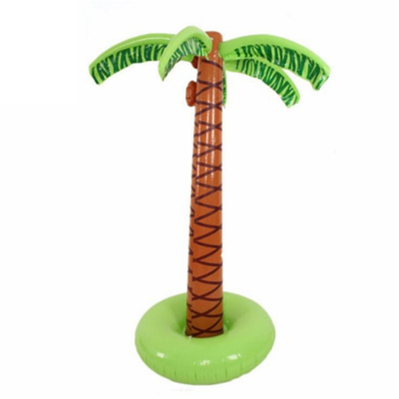 90cm Inflatable Tropical Palm Tree Pool Beach Party Decor Toy Outdoor Supplies